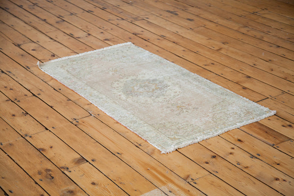 2.5x4.5 Distressed Oushak Rug - Old New House
