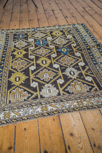 4x5 Antique Cabistan Square Rug - Old New House