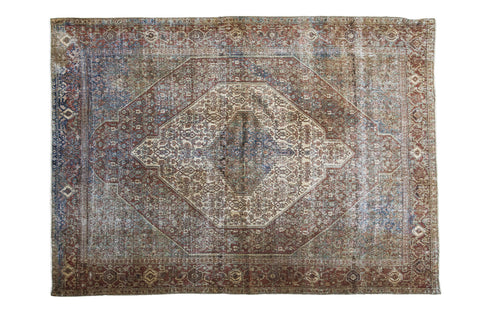4.5x6 Distressed Antique Senneh Rug