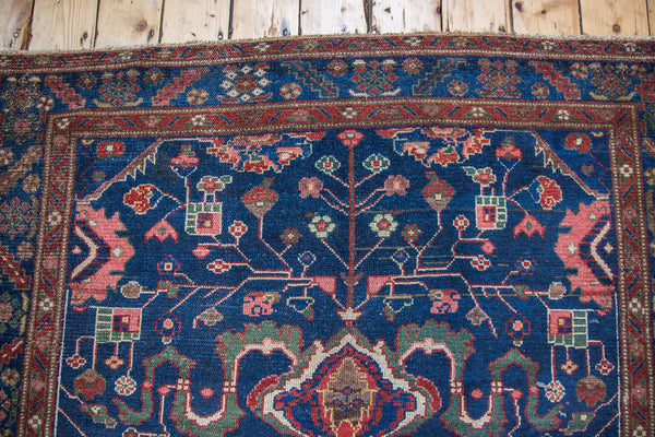 5x8 Vintage Hamadan Carpet - Old New House