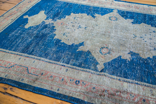 4x6 Distressed Mahal Rug - Old New House