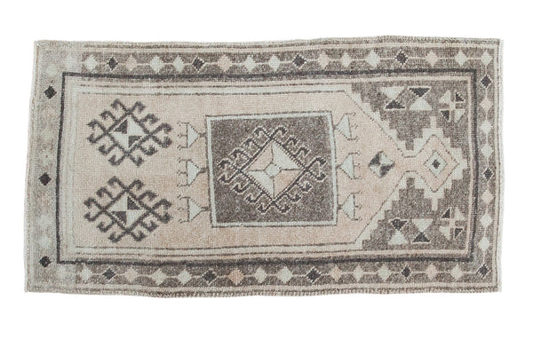 2x4 Vintage Oushak Rug Runner - Old New House
