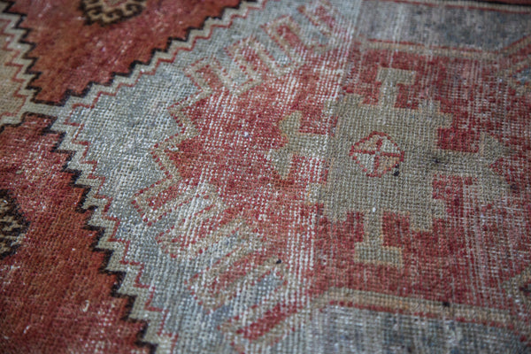 3x8 Distressed Oushak Rug Runner - Old New House