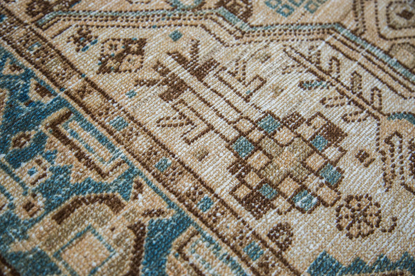 4x7 Distressed Hamadan Rug - Old New House