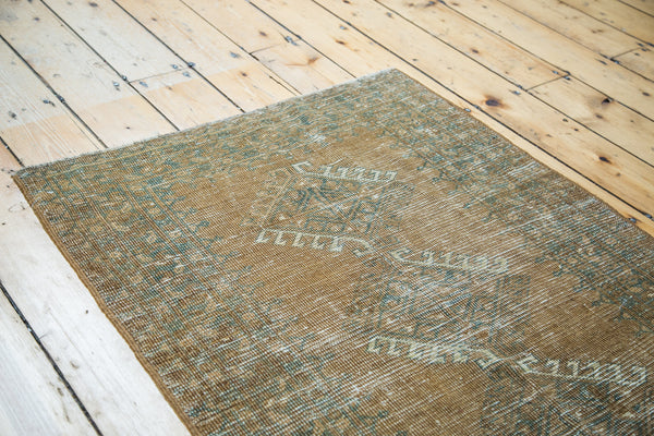 3x4 Distressed Afghan Square Rug - Old New House