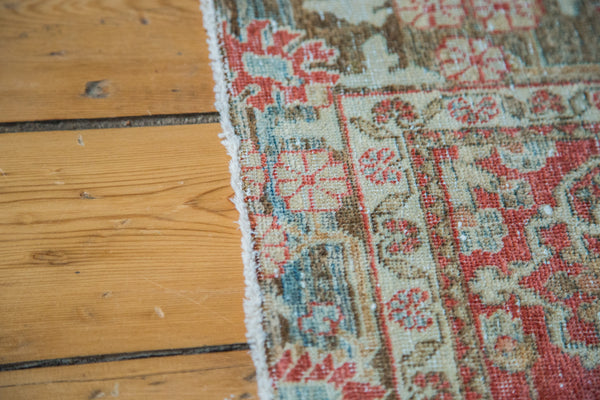 3.5x4.5 Distressed Antique Tabriz Rug - Old New House