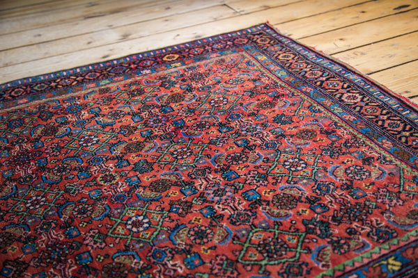 3.5x5 Antique Bidjar Rug - Old New House