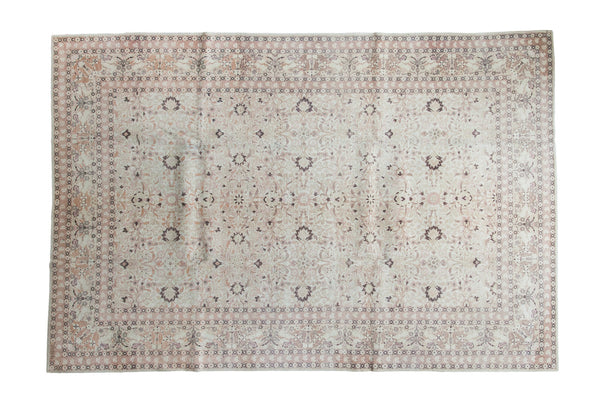 7x10 Distressed Hereke Carpet - Old New House