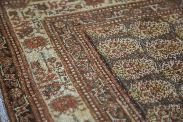 4x5.5 Antique Tabriz Rug - Old New House