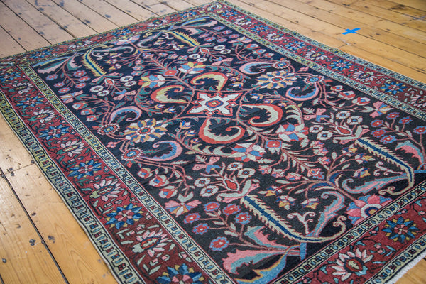 5x7 Antique Bakitiary Carpet - Old New House
