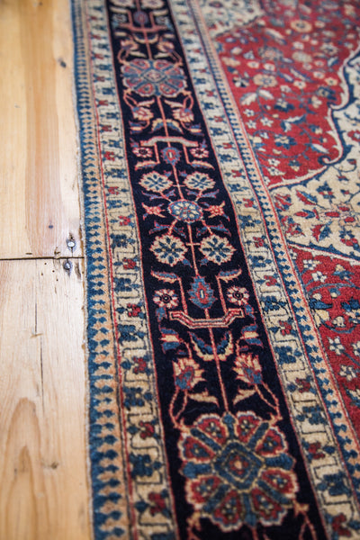 4.5x7 New Kashan Rug - Old New House