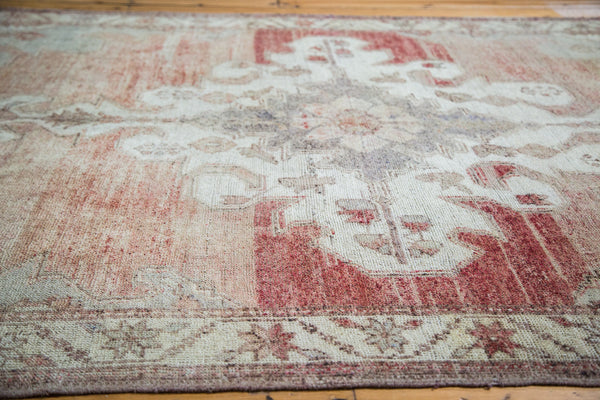 5x7.5 Distressed Oushak Carpet - Old New House
