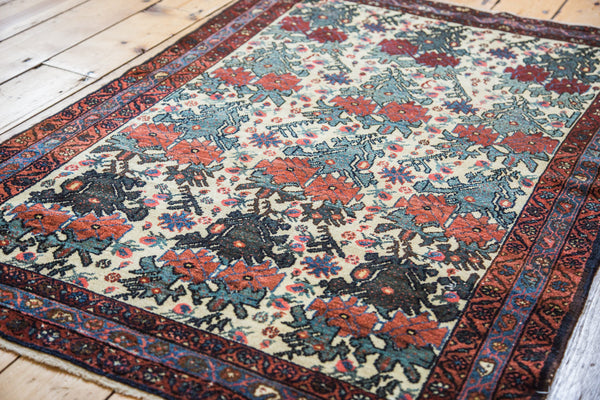 3x5 Antique Malayer Rug - Old New House