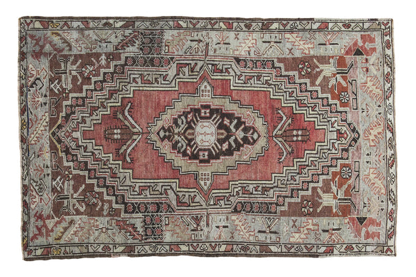 3x5 Vintage Oushak Rug - Old New House