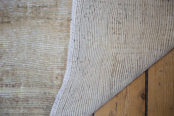3.5x10 Distressed Oushak Rug Runner - Old New House