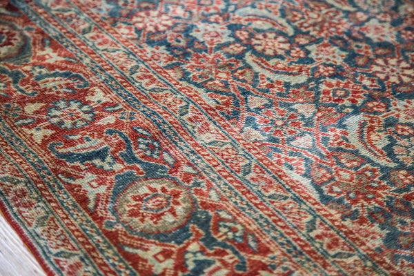 4.5x6 Antique Tabriz Rug - Old New House