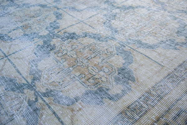 6.5x9 Distressed Oushak Carpet - Old New House