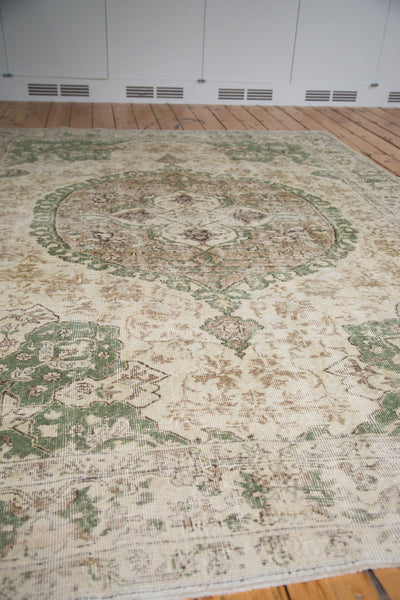 7.5x10 Distressed Oushak Carpet - Old New House
