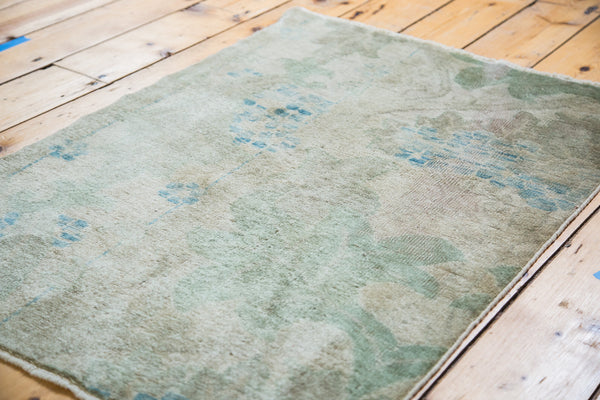2.5x3.5 Distressed Oushak Rug - Old New House