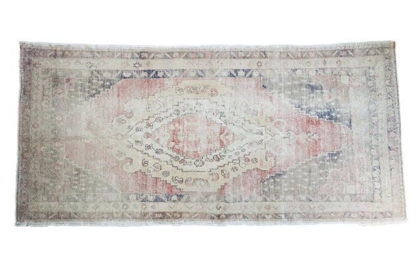 5x10 Distressed Oushak Rug Runner - Old New House