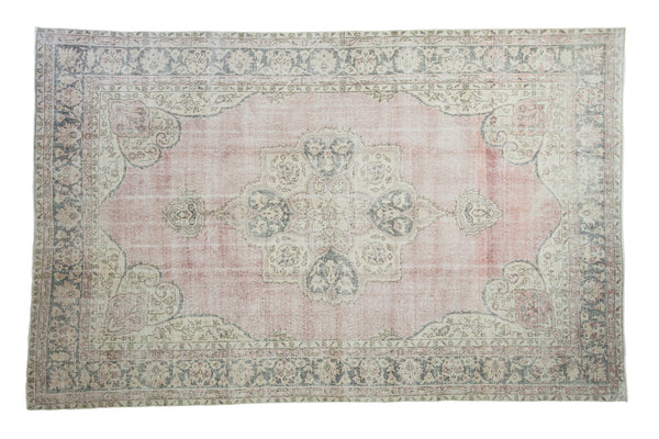 6.5x10.5 Distressed Oushak Carpet - Old New House