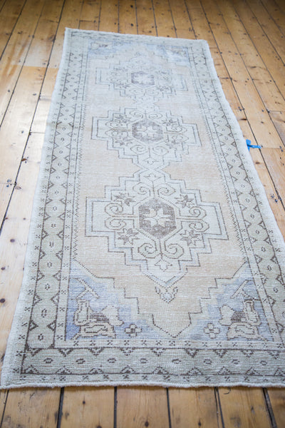 3x9 Distressed Oushak Rug Runner - Old New House