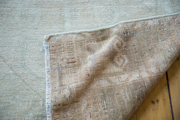 4x13 Distressed Oushak Rug Runner - Old New House
