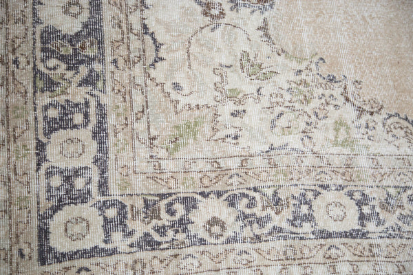 7x10 Distressed Oushak Carpet - Old New House