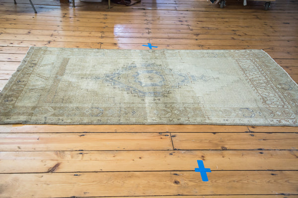 3.5x6 Distressed Oushak Rug - Old New House