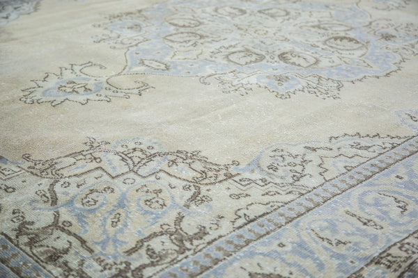 7.5x10.5 Vintage Oushak Carpet - Old New House