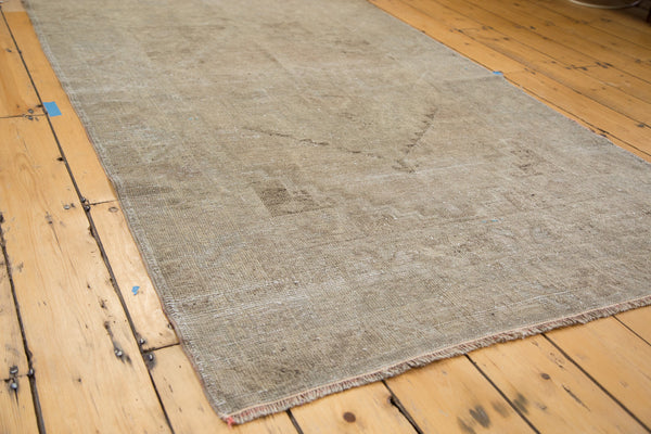 RESERVED 4x6.5 Distressed Oushak Rug - Old New House