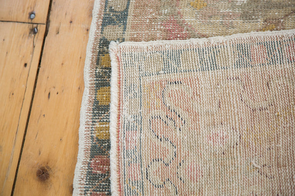 2x4.5 Distressed Oushak Rug - Old New House