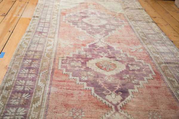 4.5x12 Distressed Oushak Runner - Old New House