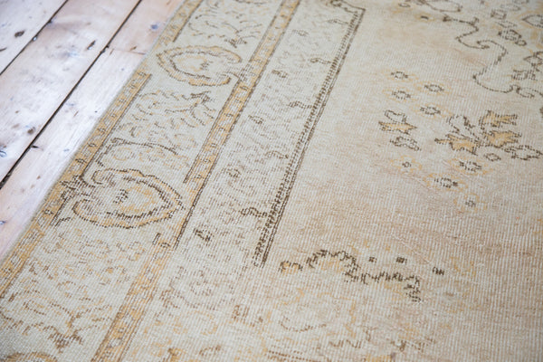 5.5x8.5 Distressed Oushak Rug - Old New House