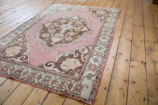Distressed Oushak Rug / Item ee001650 image 2