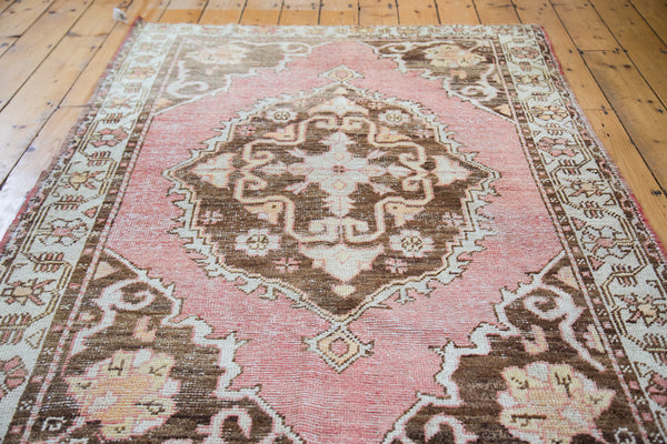 Distressed Oushak Rug / Item ee001650 image 3