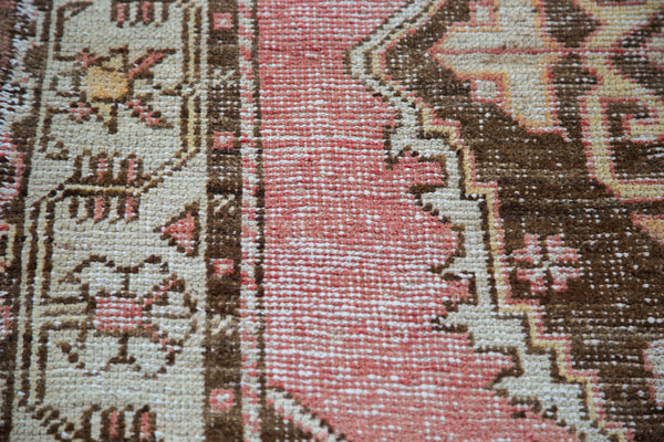 Distressed Oushak Rug / Item ee001650 image 4