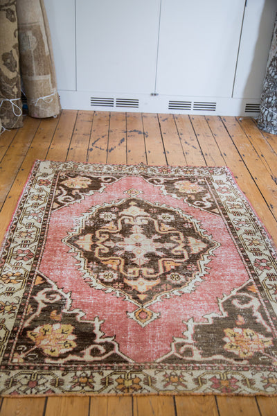 Distressed Oushak Rug / Item ee001650 image 5