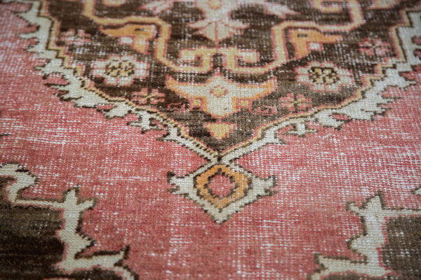 Distressed Oushak Rug / Item ee001650 image 6