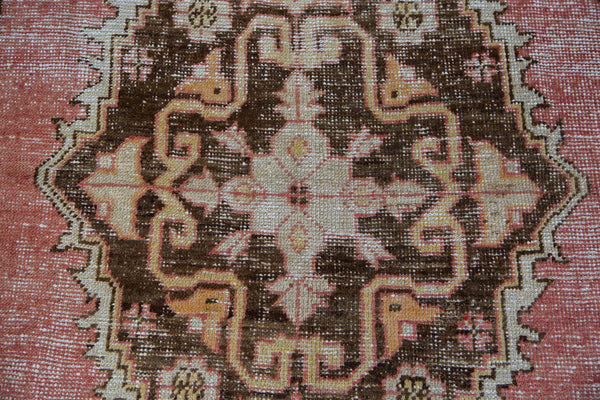 Distressed Oushak Rug / Item ee001650 image 7