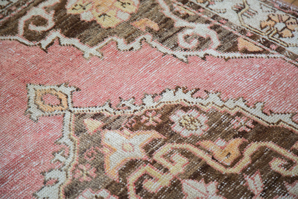 Distressed Oushak Rug / Item ee001650 image 8