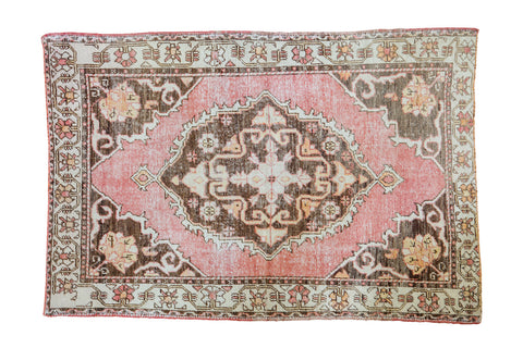 4 5x6 5 Distressed Oushak Rug Onh Item Ee001650