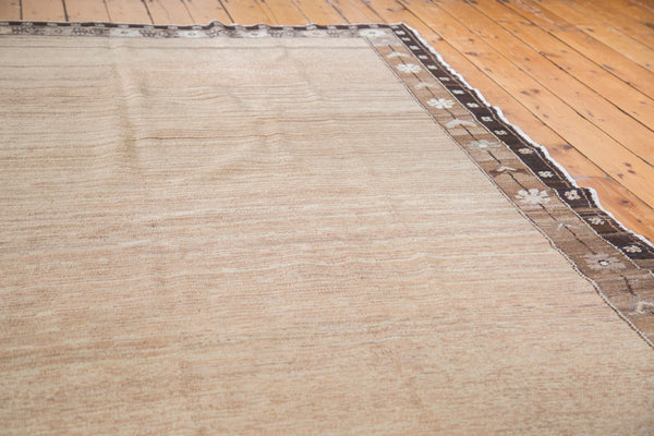 7x9 Distressed Oushak Carpet - Old New House