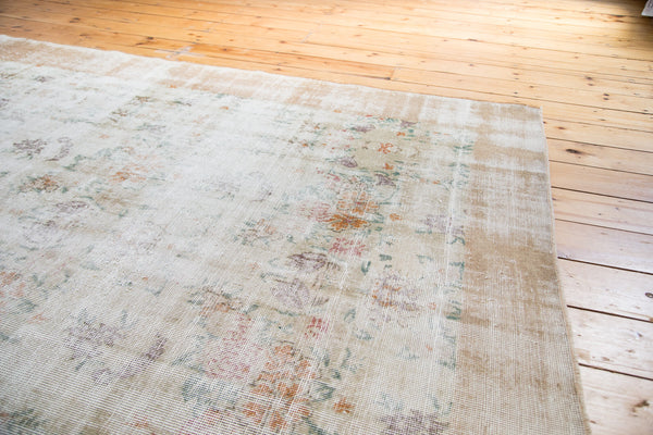 Distressed Oushak Carpet / Item ee001654 image 3