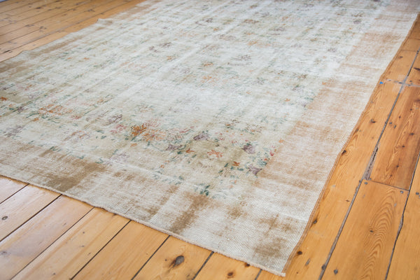 Distressed Oushak Carpet / Item ee001654 image 5