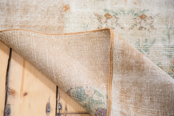 Distressed Oushak Carpet / Item ee001654 image 7