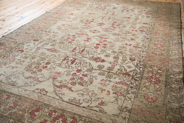 6.5x10 Vintage Oushak Carpet - Old New House