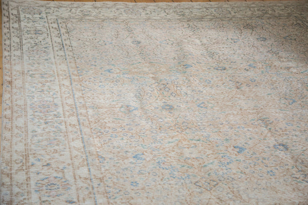 Distressed Oushak Carpet / Item ee001657 image 2