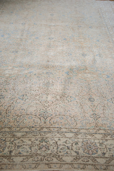 7.5x10.5 Distressed Oushak Carpet - Old New House