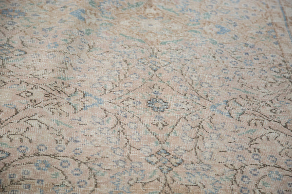 Distressed Oushak Carpet / Item ee001657 image 6